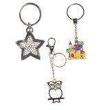 Il metallo Keychain, Metal la catena chiave come personalizzato per i regali del ricordo