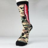 Оптовая торговля настроить моды жаккард Дамы платье трикотажные носки