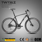 Vitesse de 700c 16Aluminium City Road Bike avec fourche à suspension unique