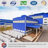 Construction d'atelier de structure métallique de coût bas de Chine