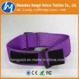 Crochet de la vente en gros 100% et Velcro élastiques en nylon de boucle