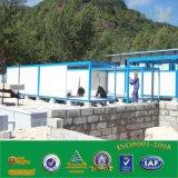 건축 용지를 위한 기성품 강철 프레임 콘테이너 집 휴대용 모듈 집