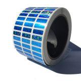 De Seguridad personalizada etiqueta holograma falsos anti