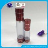 15ml30ml50ml botella Airless cosméticos con tapas de aluminio rojo para cosméticos