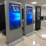 """65 """"屋外デジタル表記LCDの表示のトーテムを立てる床"""