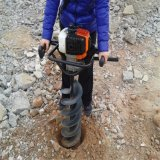 Ход землекопа 2 отверстия столба газолина електричюеских инструментов