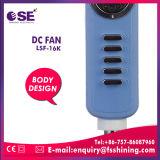 '' Ventilador solar eléctrico recargable de la C.C. 16 azules claros (LSF-16K)