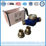 Contadores del agua multi de la transmisión de datos del interruptor de láminas del jet Dn15-Dn25