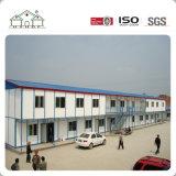 Edifício modular pré-fabricado personalizado dois andares da construção de aço como a casa Prefab do campo de trabalho