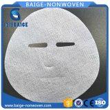 Papel facial de seda seco da máscara da folha facial de seda da máscara