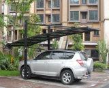 Aluminiumlandhaus-verschüttete im Freienauto-Parken,/verschüttete Sonnenschutz-Garage,/Sun-Parken-Autoparkplatz