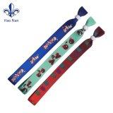 I regali caldi di natale di vendite progettano il Wristband per il cliente con tessuto