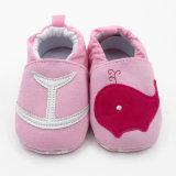 Algodão bebê Polka DOT Curta Soft Sole Presépio de calçado a ESG10331