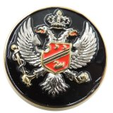 значок таможни фабрики медали металла серебра Antique сувенира 3D