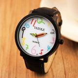 Stilvolle Armbanduhren des Mädchen-Z347, Großhandelsform-Kursteilnehmer-Uhr, Freizeit-Uhr