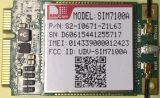 Le type du module SIM7100A Lcc de Lte 4G supporte le Lte-LECTEUR DE DISQUETTES B2/B4/B5/B17 de Quarte-Bande