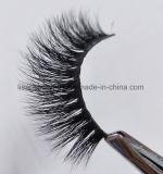 Ciglio lungo più spesso Handmade 100% di estensioni dei capelli del visone 3D della pelliccia del visone