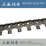 OEM 주문 탄소 강철 두집히는 위조 컨베이어 긁는 도구 롤러 사슬