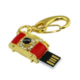 USB Pendrive da câmera do disco instantâneo do USB do metal da jóia USB3.0 mini