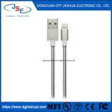Câble de l'iPhone certifié ifm chargeur All-Metal-0.5/1m Câble de la foudre de cordon de printemps à l'USB