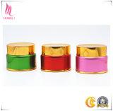 装飾的な包装のための金ねじ帽子が付いているピンクのシルクスクリーンの瓶