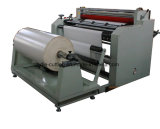 Rodillo no tejido plástico del papel de la tela del PE de los PP de la película a la cortadora de hoja con la función que raja