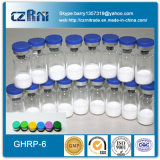 Высшее качество сырья порошок Ghrp Pralmorelin Peptide-6 (2 мг/флакон, 5мг/флакон)