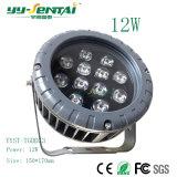 Proiettore impermeabile esterno di IP66 12W LED per l'accensione di /Architectural/l'illuminazione del giardino
