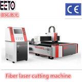 Laser-Ausschnitt-Maschine der Faser-500W für dünnes Metall-CS SS