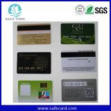 Ampliamente utilizado 4 Impresión offset Palstic tarjeta de banda magnética