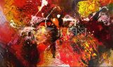 Abstrct Oil Painting Indoor Inkjet Decoration
