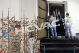 Ванная комната санитарных фитингов PVD покрытие машины, хром покрытие оборудования
