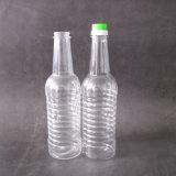 transparente Flasche des Haustier-500ml für Nahrung, kochendes Öl-Verpacken