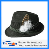 Wolle-geglaubter Hut