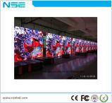 P10 en el exterior LED SMD Mobile Trailer de la pantalla