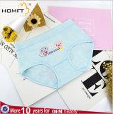 Muchachas lindas Panty de la ropa interior de Pinting de la ropa interior ultra del algodón animal dulce del color