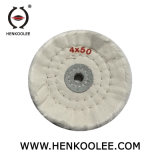 Хлопчатобумажная ткань Отбеленной полировальный круг тонкой шлифовки колеса