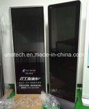 Innenim freiengaststätte-Touch ScreenSignage, der den Kiosk steht LCD-Bildschirmanzeige bekanntmacht