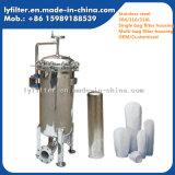 Tipo fábrica da braçadeira da carcaça de filtro da água do saco do aço inoxidável dos Ss para o uso químico