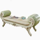 Hölzerne Hauptmöbel mit klassischem ledernem Bett-Prüftisch