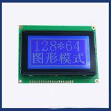 Dessins écran LCD, points de la dent 132 x 64 avec le bâti en métal