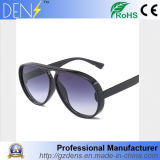 Commerce de gros UV400 Hommes et femmes des lunettes de soleil Round Big Lunettes de soleil en plastique