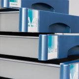 Governo di archivio di alluminio del materiale 5-Drawers di uso dell'ufficio con la serratura