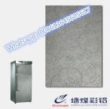 Hoja de metal decorativa del modelo del panel de la fabricación de la fábrica para la puerta del refrigerador