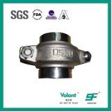 Morsetto sanitario di Counling del puntale dell'acciaio inossidabile degli accessori per tubi