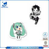 Le dessin animé coloré d'Anime de Costomed étiquette Stickers&#160 ;