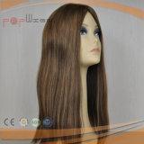 Les cheveux bruns perruque Sheitel brésilien (PPG-L-0271)