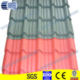 Yx28-207-828 Red Color Steel Roof Tiles