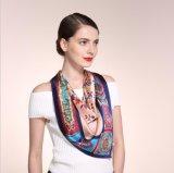 Eleganz-reiner Silk Luxuxschal fiel sehr weich, tun nicht Fräulein This ein