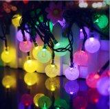 شمسيّة مصباح خيم فقاعات كرة عيد ميلاد المسيح زخرفة مصباح خيم ضوء